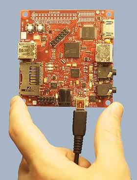 BeagleBoard single board computer