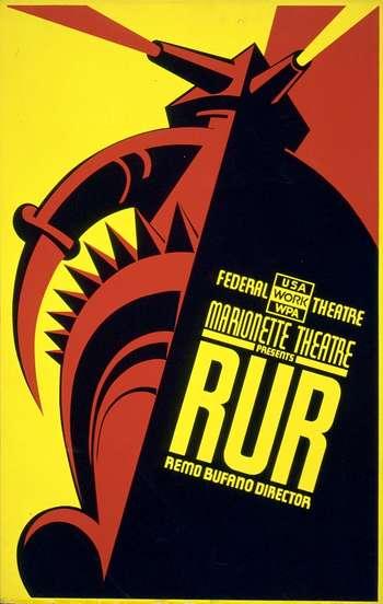 R.U.R. poster
