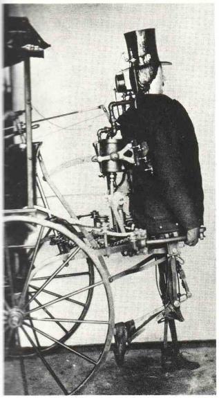 Zadoc P. Dederick's Steam Man
